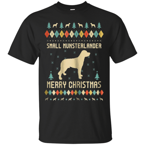 Small Munsterlander Ugly Christmas Sweater T-shirt