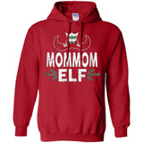 ELF Mommom Season Matching Christmas T-Shirt Family Xmas