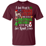 Watch Christmas Movies With My Jack Russell Terrier T Shirt