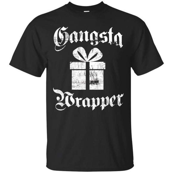 Gangsta Wrapper Funny Holiday Christmas Gift Rapper
