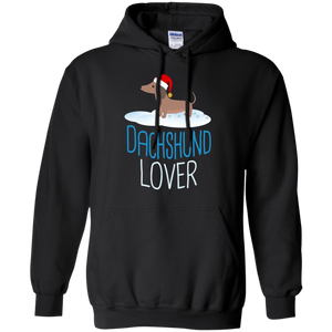 Dachshund Lover Christmas T-Shirt Holidays Weiner Dog Tee
