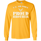 Pride Military - Proud U.S Air Force Brother Soldier T-shirt