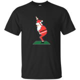Christmas Santa Yoga Position T-shirt Chair Pose Yoga