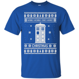 Doctor Who Christmas Sweater: Wibbly Wobbly Timey Wimey Christmas