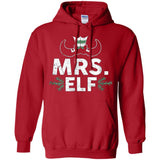 ELF Mrs. Season Matching Christmas T-Shirt Family Xmas