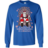 A Winter Wonderland is Coming Christmas Santa Claus Shirt
