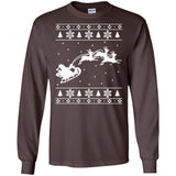 Ugly Christmas Sweater Design Reindeer Funny Shirt
