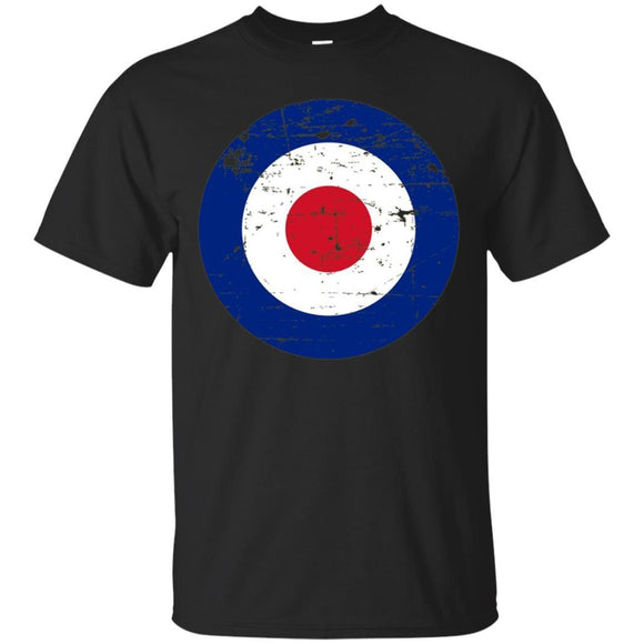 Royal Air Force World War II Spitfire Logo Retro T-Shirt