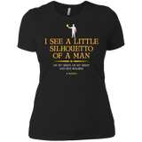 I See A Little Silhouetto Of A Man With Mango T-Shirt