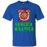 Xmas Gangsta Wrapper Funny Holiday Christmas T-Shirts