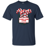 Candy Cane Lover Pocket Xmas Christmas Sweets T-shirt