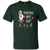Matching Christmas Funny You're My Elf with Santa Shirts