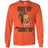 Nut Up or Shut Up Funny Squirrel Graphic T-Shirt