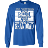 Proud Navy GRANDDAD Daughter Military Air Force Navy T Shirt