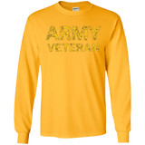 US Army Veteran Faded Grunge Distressed T-Shirt