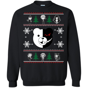 Danganronpa Ugly Christmas Sweaters Merry Christmas Hoodies Sweatshirts