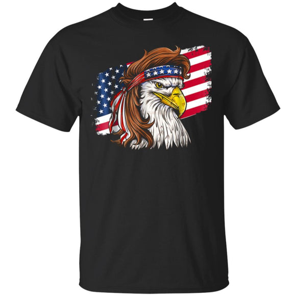 Patriot Eagle Tshirt for men Eagle Patriotic American Flag JAQ T-Shirt