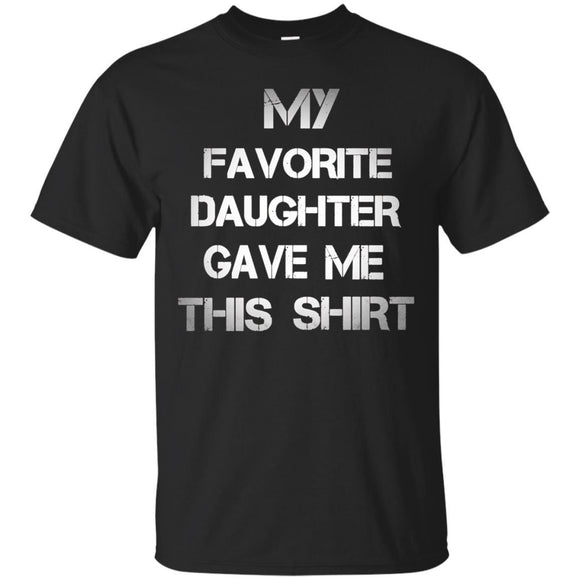 Christmas Gift For Dad From Daughter To Father Bday shirt