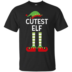 Cutest Elf Cute Funny Matching Ugly Christmas Shirt