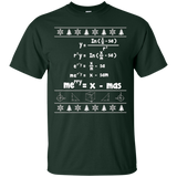 Merry = X-mas Ugly Christmas Math Sweater T-Shirt