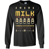 MILK Ugly Christmas Sweater Vintage Retro Style T-Shirt, hoodie, tank