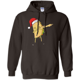 Mexico Christmas T-Shirt: Santa Dabbing Taco Mexican Food