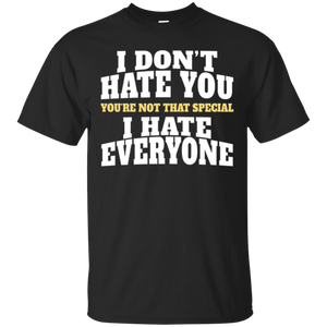 I Hate People T-shirt Funny Sarcastic Shirt for Pessimists