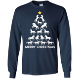 2018 Horse Christmas Tree Ugly Sweater Funny T-Shirt