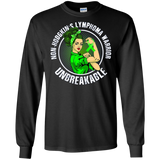 Unbreakable NON-HODGKIN'S LYMPHOMA Warrior t shirts