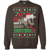 Christmas Ugly Sweater Have A Dairy Christmas  Hoodies Sweatshirts