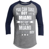 Can take the Boy out of Miami Long Sleeve Tee Florida Pride