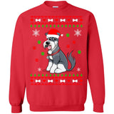 Schnauzer Christmas sweater