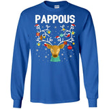 Pappous Reindeer Ugly Xmas Greek T-shirt Christmas Family