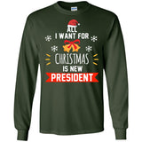 Funny Christmas President Shirt Anti Trump Protest Gift