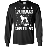 Rottweiler Ugly Christmas Sweater T-shirt, hoodie, tank