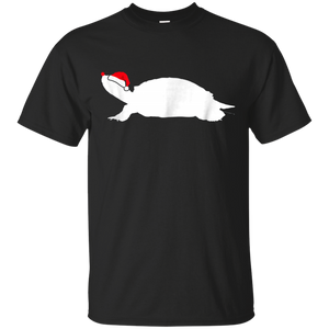 Red-Eared Slider Turtle Tshirt Gift, Santa Hat Christmas T-s