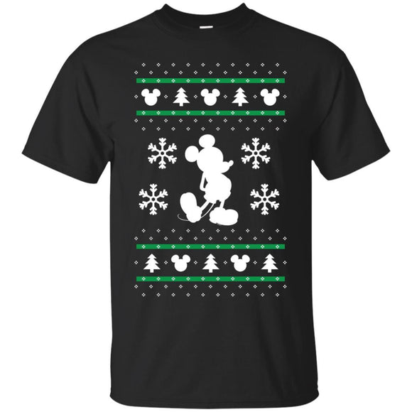 Disney Mickey Mouse Christmas Sweater Print