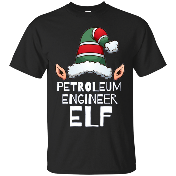 Petroleum Engineer Elf Long Sleeve Tshirt Christmas Holidays