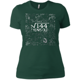 Square Root of 144 Gift 12th Birthday 12 Years Old T-Shirt