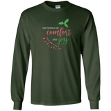 O Tidings of Comfort and Joy Christmas caroling shirt