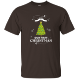 Our First Christmas Cute Couples T-Shirt | Gift