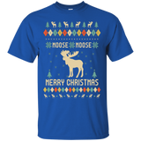MOOSE Long Sleeve T-Shirt, Ugly Christmas Sweater T-shirt, hoodie, tank