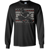 Marvel Black Panther Crouch Ugly Christmas Sweater T-Shirt