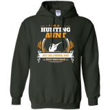 2018 Funny Hunting Aunt Tshirt Christmas Gift for Aunt