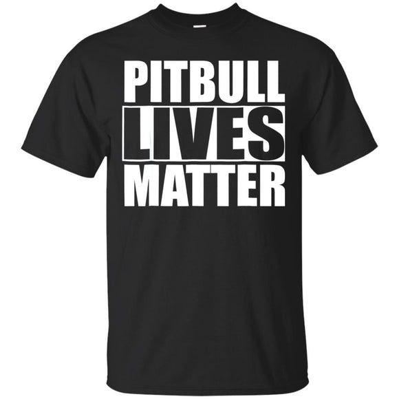 Pitbull Lives Matter Bully Dog TShirt Gift JAQ T-Shirt