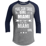 Can take the Girl out of Miami Long Sleeve Tee Florida Pride