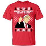 Santa Trump Make Christmas Great Again Shirt