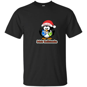Mele Kalikimaka Merry Christmas Funny Penguin Hawaiian shirt