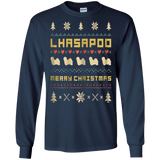 LHASAPOO Christmas T-Shirt, Ugly Christmas Sweater T-shirt, hoodie, tank