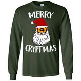 Merry Crypt'mas T-shirt Bitcoin Crypto Currency Christmas